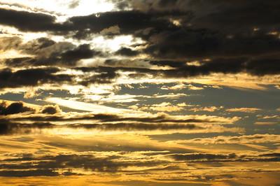Golden Sunset - Anchorage - Alaska - USA