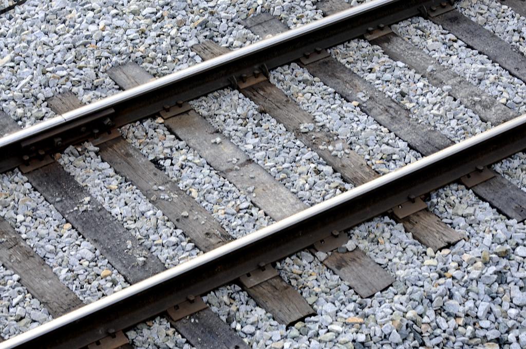 Railroad Tracks - Transportation - Turnagain Arm - Alaska - USA