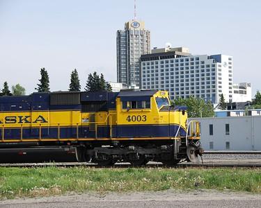 Train - Alaska Railroad - Transportation - Anchorage - Alaska - USA