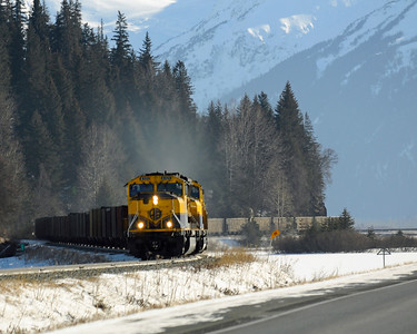 Alaska Railroad - Turnagain Arm - Alaska - USA