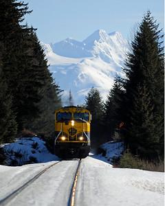 Alaska Travel Photography - Turnagain Arm - Alaska Railroad
