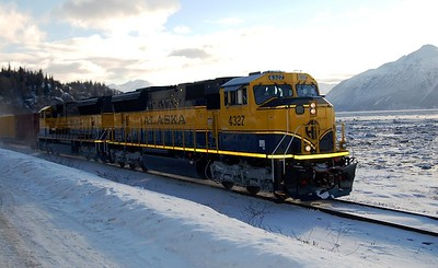 Alaska Travel Photography - Turnagain Arm - Alaska Railroad