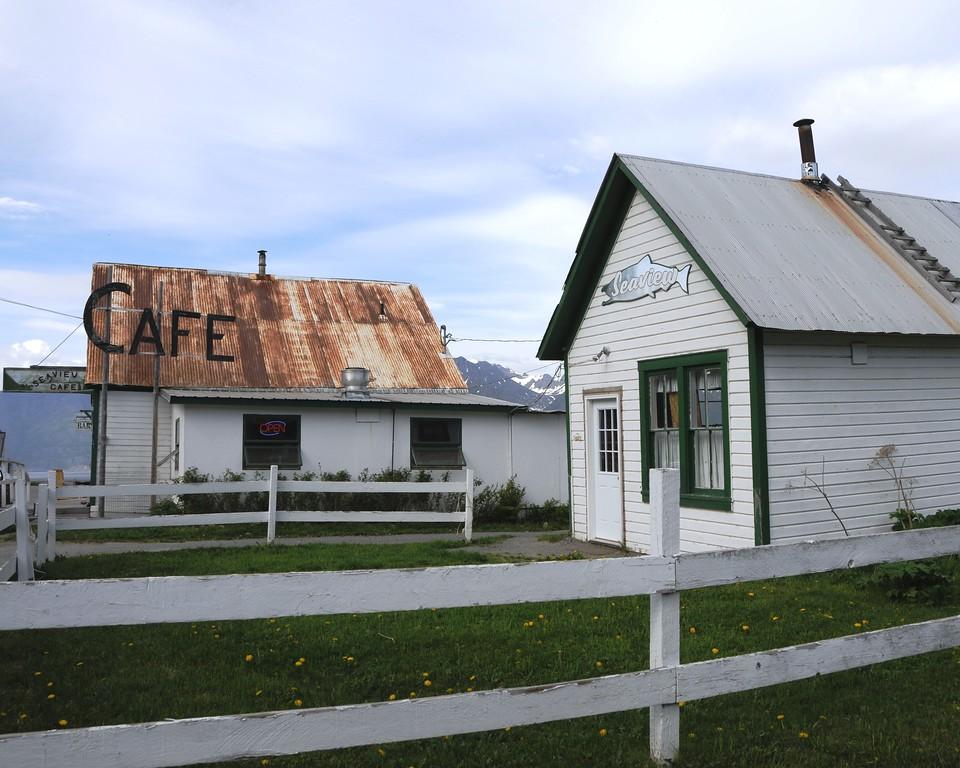 Hope - Downtown - Seaview Cafe - Hope - Alaska - USA