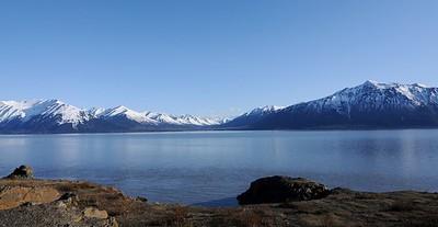 Mountains - Spring - Turnagain Arm - Alaska - USA