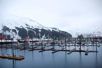 Boat Harbor - Winter - Whittier - Alaska - USA