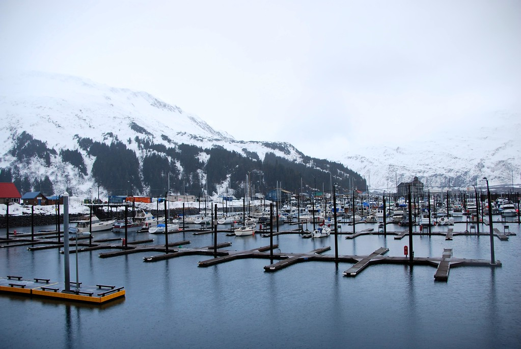 Boat Harbor - Winter - Whittier - Alaska - USA