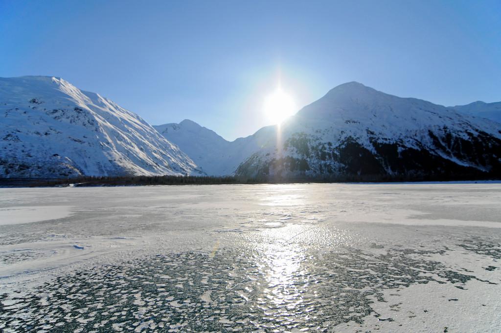 Portage Lake - Portage - Alaska - USA