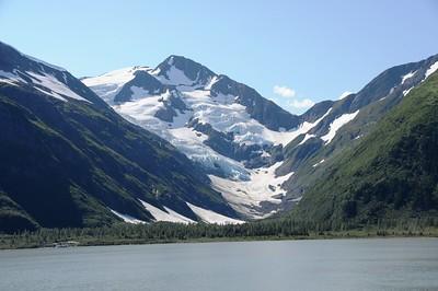 Glacier - Portage Lake - Portage - Alaska - USA