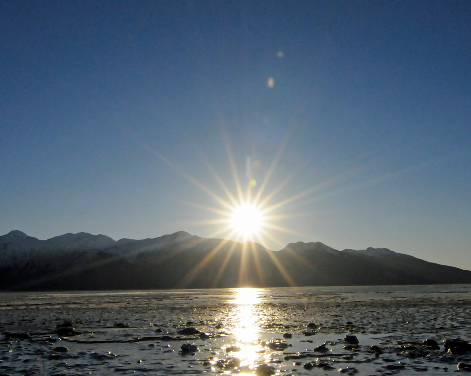 Sunshine - Turnagain Arm - Alaska - USA