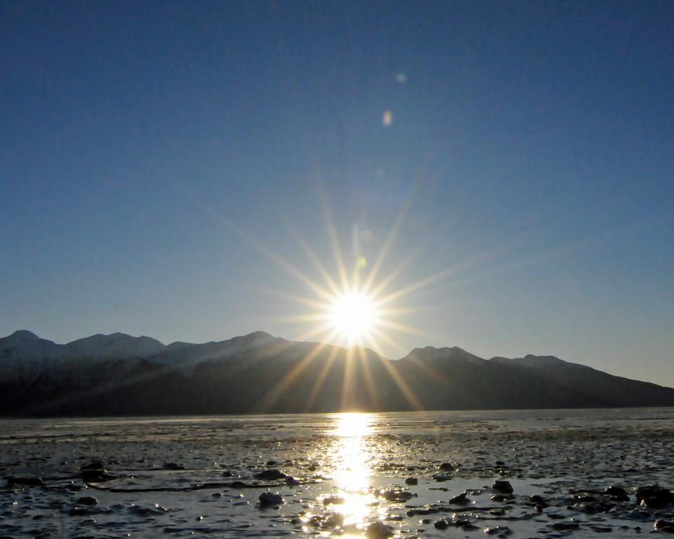 Sunshine - Turnagain Arm - Alaska - USA