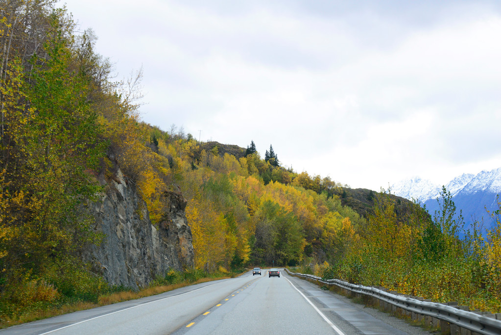 Autumn Photos - Fall Colors - Turnagain Arm - Alaska - USA