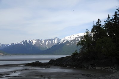 Hope Road - Turnagain Arm - Hope - Alaska - USA