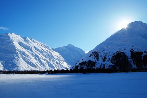 Alaska Travel Photography - Portage - Portage Lake
