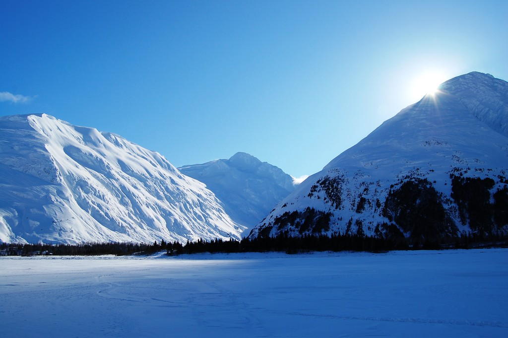 Alaska Travel Photography - Portage - Portage Lake