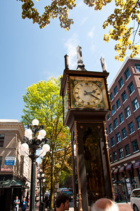 Steamclock in downtown Vancouver.