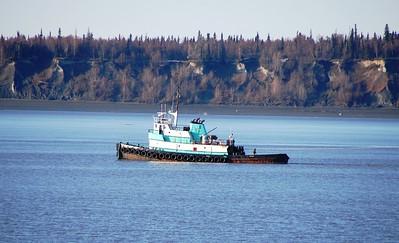Boat - Tug Boat - Transportation - Port of Anchorage - Anchorage - Alaska - USA