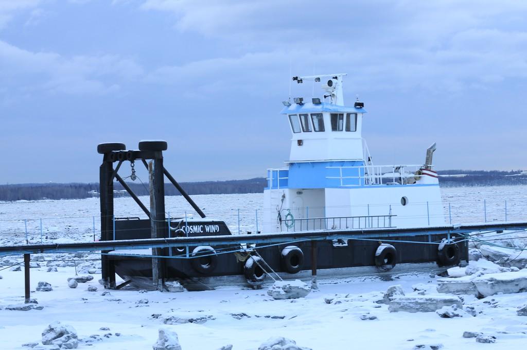Tug Boat - Port of Anchorage - Downtown - Anchorage - Alaska - USA