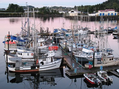 Boat - Transportation - Boat Harbor - Sitka - Alaska - USA