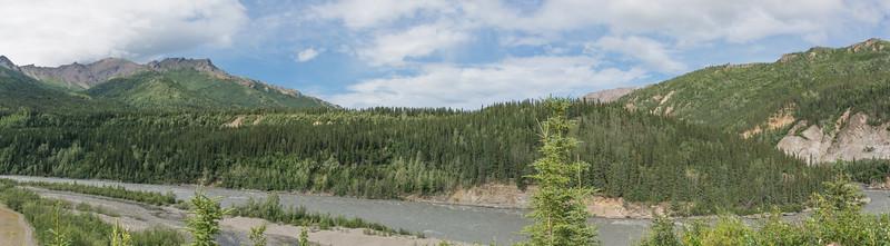 Wednesday July 19th - Denali National Park-8-Pano