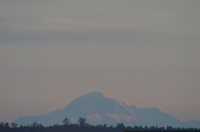 Denali at sunrise from Anchorage