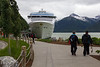 Skagway dock. I have enjoyed taking this photo on each of our three trips to Skagway.