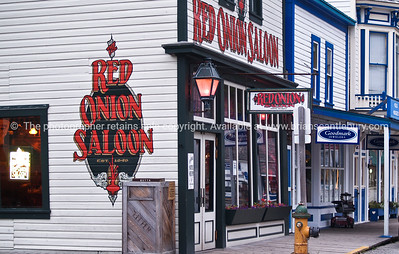 """Red Onion Saloon"", Skagway, Alaska. SEE ALSO:   www.blurb.com/b/893025-north-to-alaska"