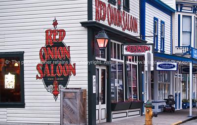 """""""Red Onion Saloon"""", Skagway, Alaska. SEE ALSO:   www.blurb.com/b/893025-north-to-alaska"""