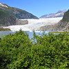Mendenhall Glacier north of Juneau