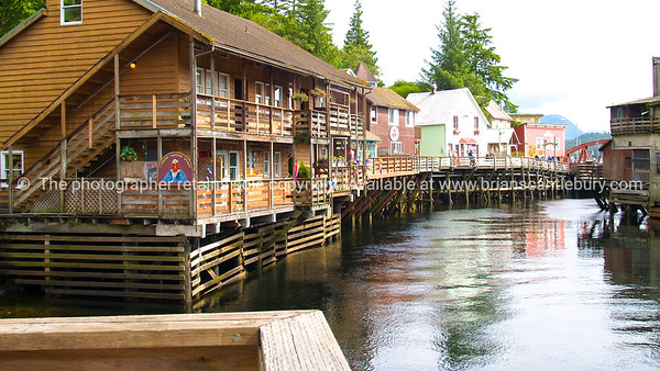 """Buildings on historic Creek Street, ketchican. SEE ALSO:    <a href=""""http://www.blurb.com/b/893025-north-to-alaska"""">http://www.blurb.com/b/893025-north-to-alaska</a>"""