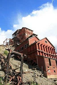 Kennicott Mine Village, Alaska.