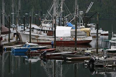 docks at Pelican