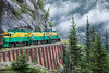 Around the bend, Skagway, Alaska