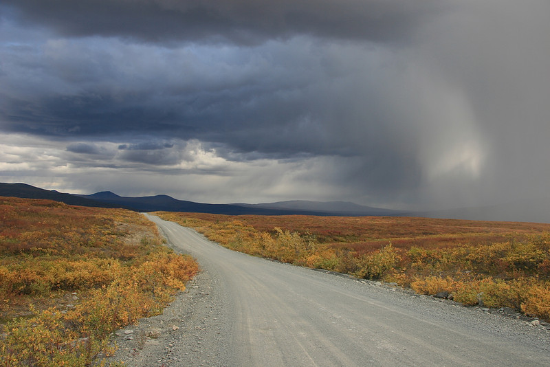 Endless Road, Denali Highway, Alaska.