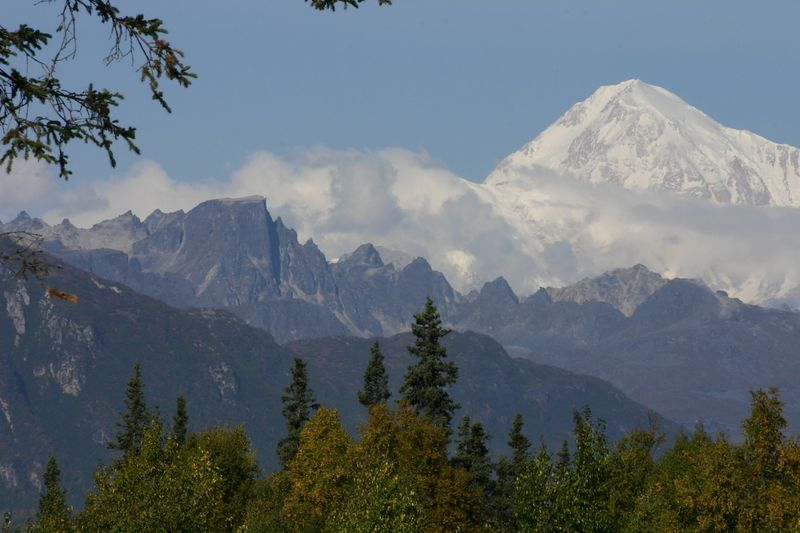 Mt. McKinley from the southeast