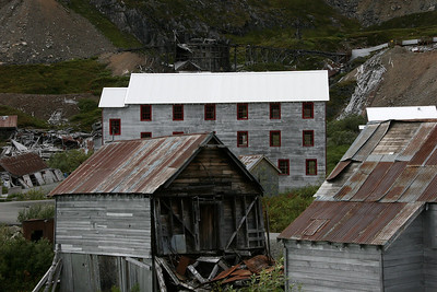 Independence Mine State at Hatcher Pass, Alaska.