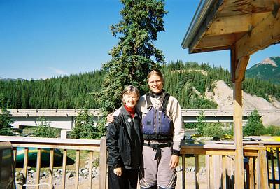 Melanie &  Josh Wood, who was trained by Anne on the Chattoga - he saw my Nantahala cap