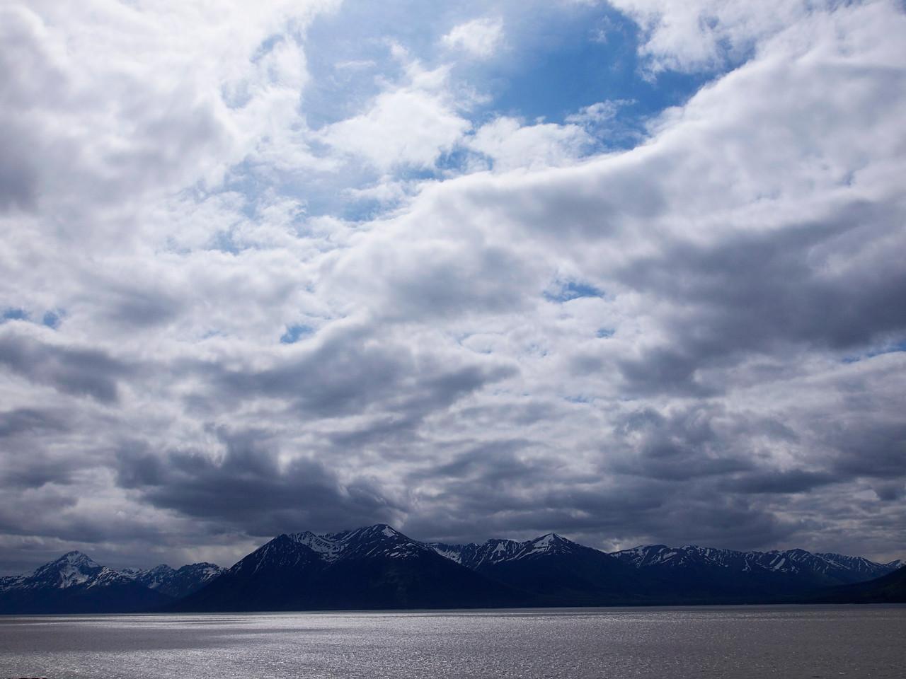 Turnagain Arm - Anchorage, Alaska  By Valerie Mellema  June 10, 2011