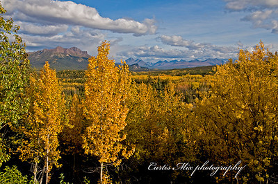 Denali in autumn.