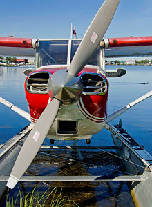 Lake Hood seaplane port, Anchorage, AK.