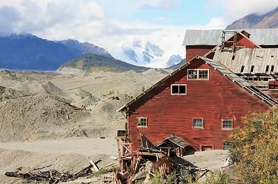 Kennicott & Root Glacier, Alaska.