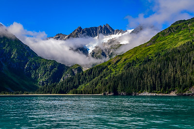 The beauty of the Kenai Fjord
