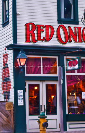 Red onion Saloon. Great place for a drink or meal. Skagway, Alaska. SEE ALSO:   www.blurb.com/b/893025-north-to-alaska