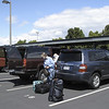 Bellingham Cruise Terminal Parking Lot. We left our cars here for three weeks. Bellingham, Washington.