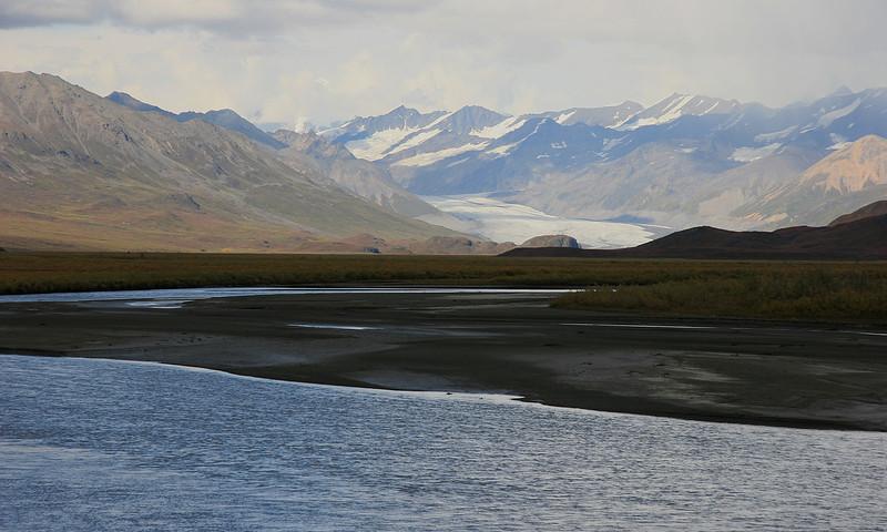 McLaren Glacier, Denali Highway, Alaska.