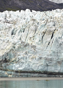 Glacier at Glacier Bay, Alaska