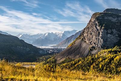 Glacier View - Along the Glenn Highway
