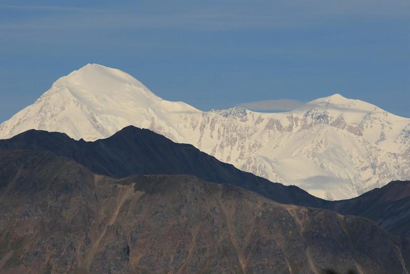 Mount McKinley (6,194m), Alaska.