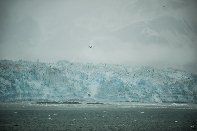 Hubbard Glacier in the mist
