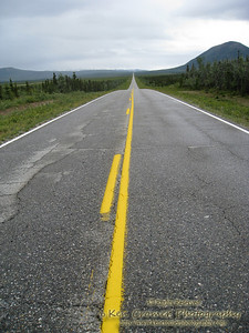 You could stand in the middle of many of the Alaskan highways for a good 10 minutes before a vehicle came by.