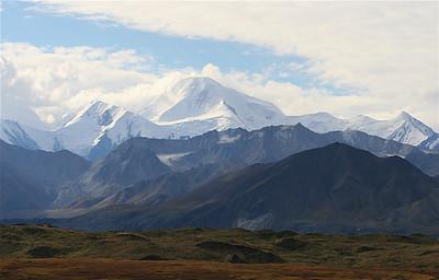 Mount McKinley, Denali National Park, Alaska.
